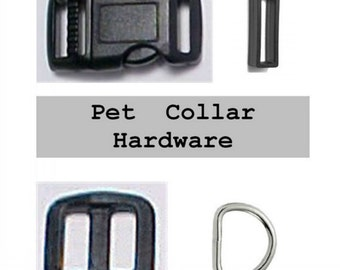 """10 SETS - 1/2"""" - Dog Collar Kits, .5 inch, 40 Pieces - With keepers"""