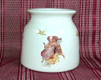 Handmade Ceramic Wax Warmer / Angel Decor / Tart Warmer / Oil Warmer / Potpourri Warmer / Wax Melter / Angel Gift /  Candle Wax Warmer