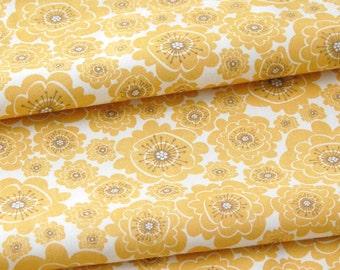 SALE organic cotton fabric by Daisy Janie - 1/2 YARD - Mumsy Dawn