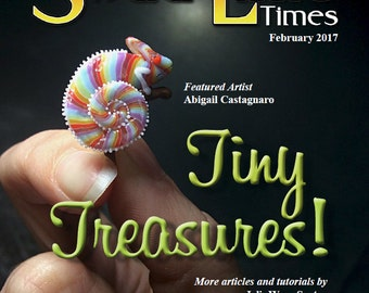 Feb 2017 Soda Lime Times Lampworking Magazine - Tiny Treasures - (PDF) - by Diane Woodall
