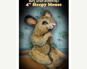 ON SALE Mouse Sewing Pattern, Stuffed Animal Pattern, Teddy Bear Pattern, DIY Mouse, Stuffed Mouse Pattern, Artist Mouse Pdf, Toy Mouse