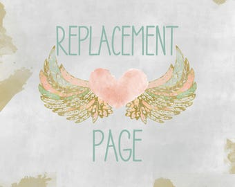 Oops! Replacement Page