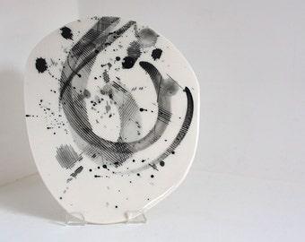 Small Round Zen Plate