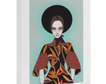 Anthology of Pattern Elle Art Canvas