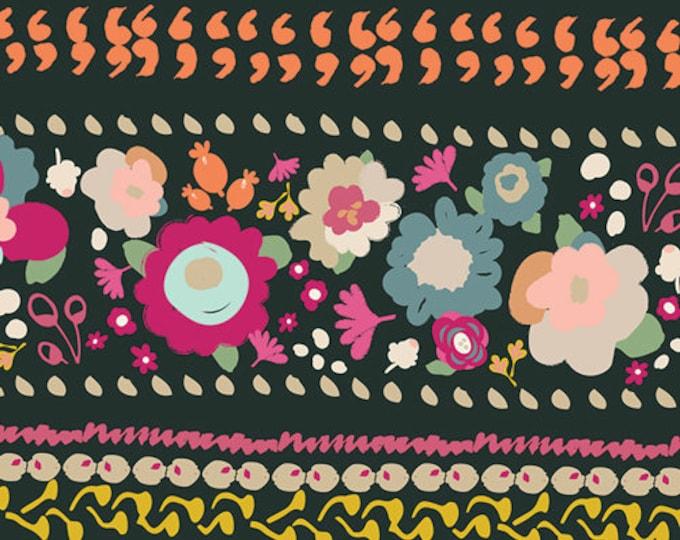 Indie Boheme fabric, Bohemian Fabric, Floral Fabric, Fabric Shoppe, Boho decor, Art Gallery fabrics, Boho Quest Night- Choose your cut