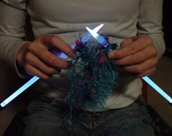 NeedleLite Lighted Knitting Needles, US Size 10