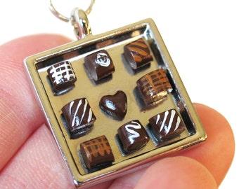 Valentines Chocolates Necklace