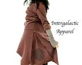 Sacred Geometry Coat, Gypsy Clothes, Intergalactic Apparel
