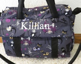 Nightmare before Christmas Diaper Bag w/change pad by EMIJANE