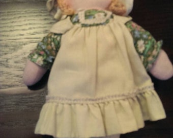 "Vintage Knickerbocker Holly Hobbie 10"" Cloth Doll Amy"