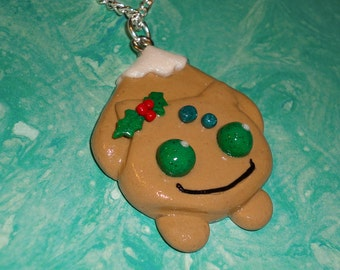 Pokemon - Bulbasaur Christmas Cookie Necklace - Limited Edition Charm