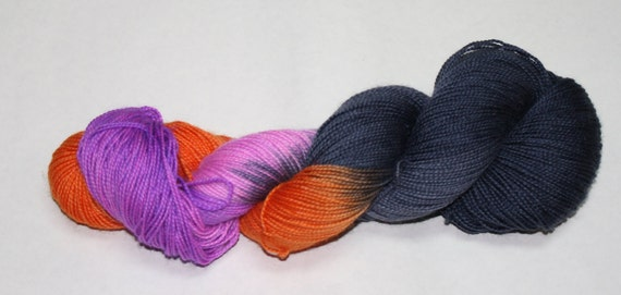 Ginny Hand Dyed Sock Yarn