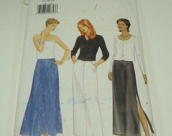 Butterick Misses'/Miss Petite Skirt Pattern 6021 Size 14, 16, 18
