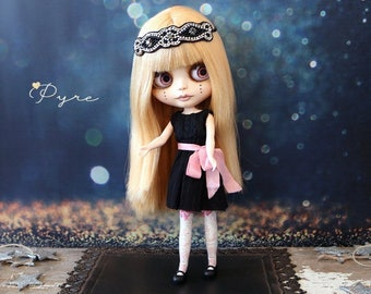 Pyre A OOAK Unique Custom Blythe Doll
