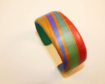 Jewel-Colors Cuff