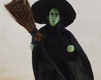 Wicked Witch of the West Doll in Miniature Wizard of Oz Character
