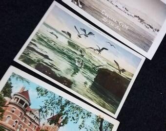 Postcards/1950s/Central CA Coast