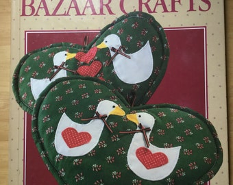Country Bazaar Crafts book - vintage 1986 arts and crafts