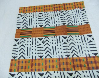 African Kente Fabric by the Yard
