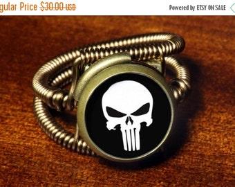 Punisher Ring Etsy