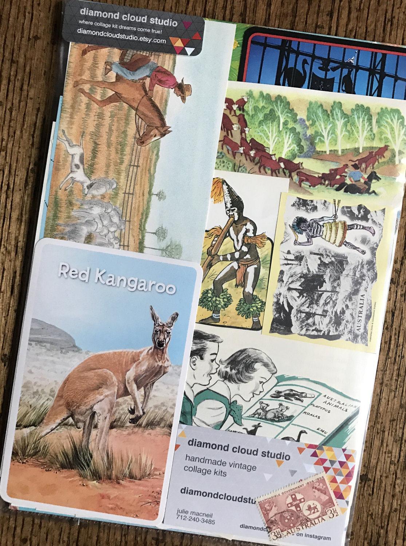 Scrapbook paper australia - Sold By Diamondcloudstudio