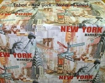 Fat Quarter Fabric - New York Cotton Canvas