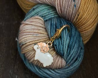 Enamel Sheep Knitting Stitch Marker / Progress Keeper