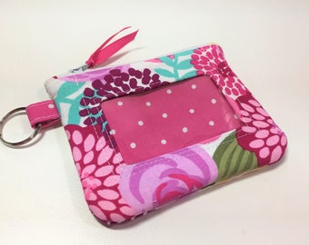 Zip ID Case in Abby Main Floral