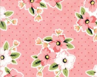 Olives Flower Market (5030 12) Nosegay Pink  by Lella Boutique