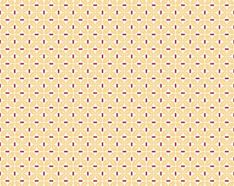 Sew Cherry 2 By Lori Holt Leaf Yellow (C5806-Yellow)