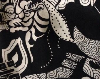 Black & White Infinity Scarf