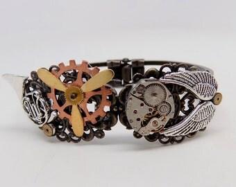 """Shop """"steampunk jewelry"""" in Bracelets"""