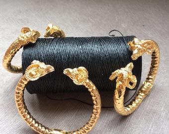Rams Head Design Bracelet
