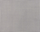 Fabric Sale! First Crush - Gray Houndstooth Print Fabric