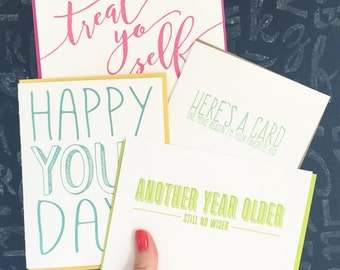 SUBSCRIPTION: 622's Monthly Letterpress Card Club