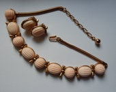 Reserve for Jiayi-Trifari Necklace and Earring Set - Circa 1950's - Vintage Jewelry