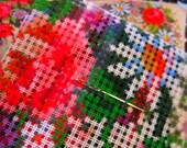 Vintage Cross Stitch Cushion Kit - Unused