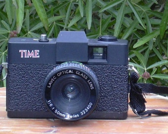 Vintage Time 35mm Film Camera Lo Fi Fun Working, But.... See Notes