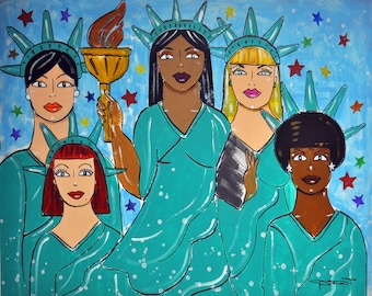 Liberty for All- Fine Art Giclee Print