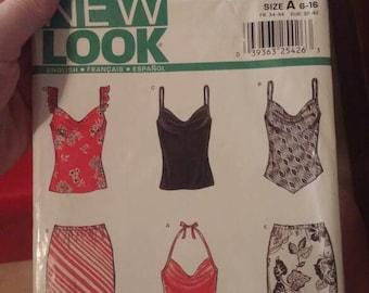 Uncut New Look Pattern # 6153 SZ 6-16