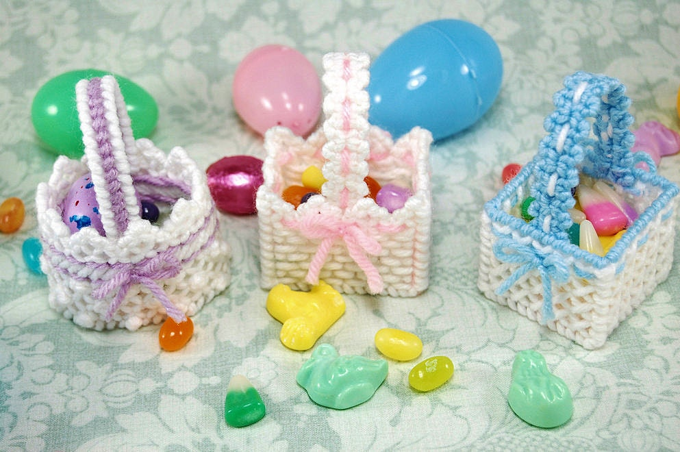 Agile image with free printable easter basket plastic canvas patterns