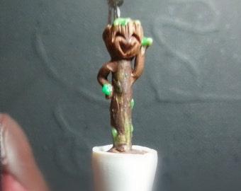 Dancing baby Groot earrings
