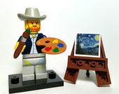 Vincent Van Gogh - Custom Lego Minifigure Set with accessories