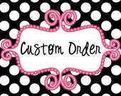 Custom order for CH