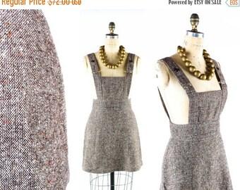"40% OFF SALE Vintage 80s High Waisted Jumper // Mini Skirt // High Waisted Mini Skirt // Tweed Skirt // 80s Skirt // 90s Skirt - sz M - 28"""