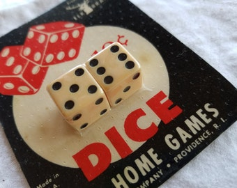 NIP Playing Dice, Elk Brand, For Home Games, Made in USA