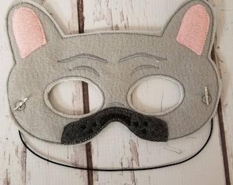 French bulldog mask
