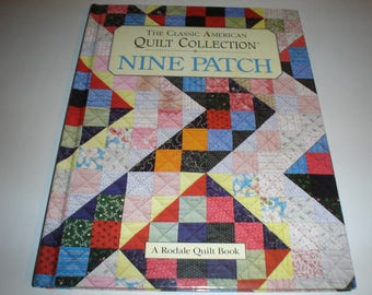 The Classic American QUILT COLLECTION – Nine Patch-hardback book   Item 111b