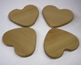 HEART Coaster Set (set of 4)
