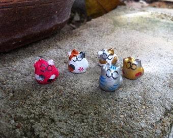 Mini Beans Maneki Neko ( lucky cats )